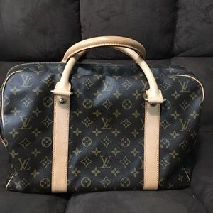 Louis Vuitton Carryall (overnight luggage!